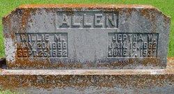 Willie M. <I>Rust</I> Allen