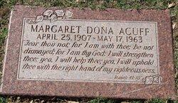 Margaret Dona <I>Mulkey</I> Acuff