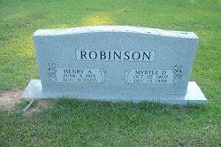 "Henry Archer ""Bubba"" Robinson"