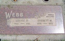 Louise <I>Ott</I> Webb