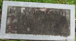 Dora Ann <I>Vaughn</I> Hollowell