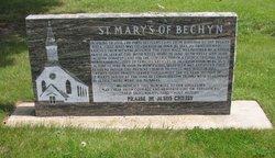Saint Marys of Bechyn Cemetery