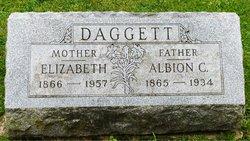 Elizabeth Margaret <I>Kinzie</I> Daggett