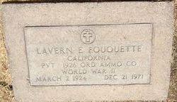 PVT Lavern Elmer Fouquette