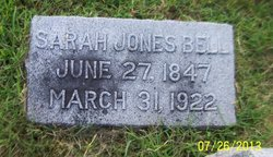 Sarah <I>Jones</I> Bell