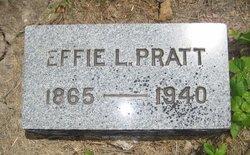 Effie Lou <I>Hill</I> Pratt
