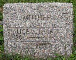 Alice A Barndt