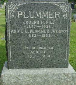 Angie L <I>Plummer</I> Hill