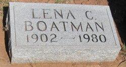 Lena Clara <I>Bergen</I> Boatman