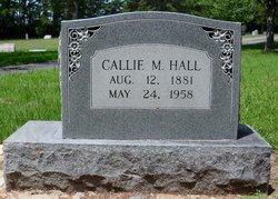 Callie <I>Magee</I> Hall