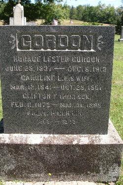 Horace Lester Gordon