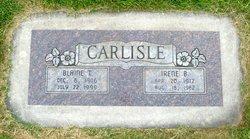 Irene Betsy <I>Bertelson</I> Carlisle