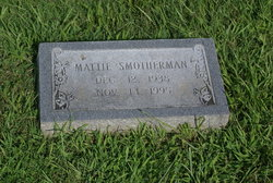 Mattie Marie <I>Montgomery</I> Smotherman