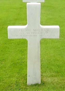 PVT Elijah Milliken