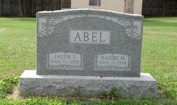 Naomi May <I>Smeltzer</I> Abel