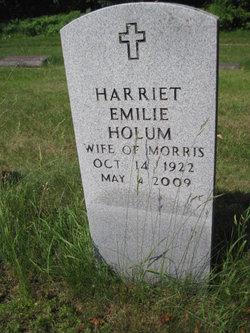 Harriet Emilie <I>Fisher</I> Holum