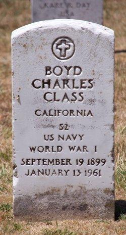 Boyd Charles Class