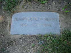 Jeannette V <I>Patricy</I> Kenny