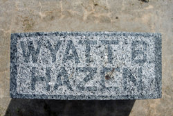 Wyatt B. Hazen