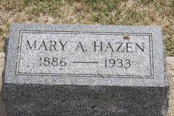 Mary Alice <I>Wright</I> Hazen