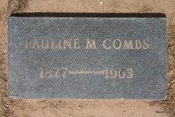 Pauline <I>Mauritz</I> Combs