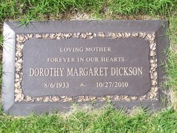 Dorothy Margaret <I>Kreutzer</I> Dickson