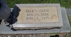 Ella <I>Yancey</I> Cline