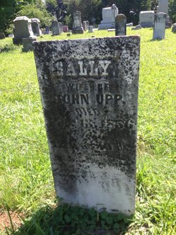 "Sarah ""Sally"" <I>Merritt</I> Upp"