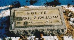 "Caroline Zerns ""Carrie"" <I>Usinger</I> Gwilliam"