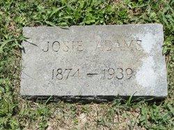 Josie <I>Courtney</I> Adams
