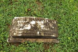 Mable <I>Haskins</I> Carter