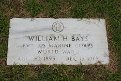 PVT William Hezekiah Bays