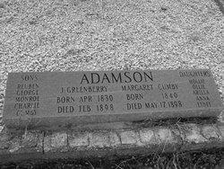 Joseph Greenberry Adamson