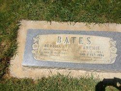 Bertha <I>Thorson</I> Bates