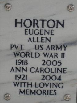 Eugene Allen Horton