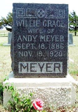 Willie Grace <I>Gililland</I> Meyer