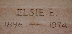 Elsie <I>Wentzel</I> Albrecht