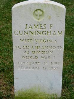 James F Cunningham
