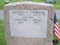 Dorothy T. <I>Royal</I> Garrison