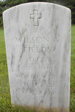 Wilson A Fields
