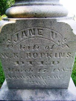 Jane Ursula <I>Easterly</I> Hopkins