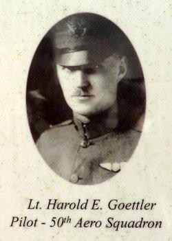 Harold Ernest Goettler