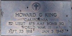 2LT Howard G. King