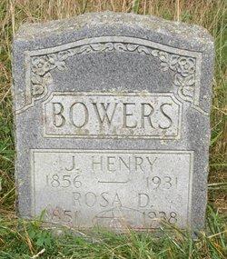"Rosanna Jane ""Rosa"" <I>Dugger</I> Bowers"