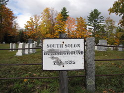South Solon Burial Ground