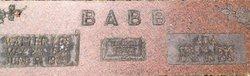 Ada <I>Gowen</I> Babb