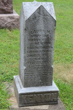 Laura M. <I>Kenyon</I> Kenyon