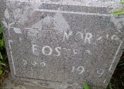Etta <I>Morris</I> Foster