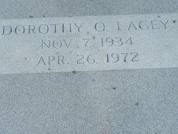 """Dorothy Mae """"Dot"""" <I>Overby</I> Lacey"""