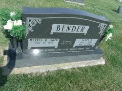 Martha M <I>Ropp</I> Bender
